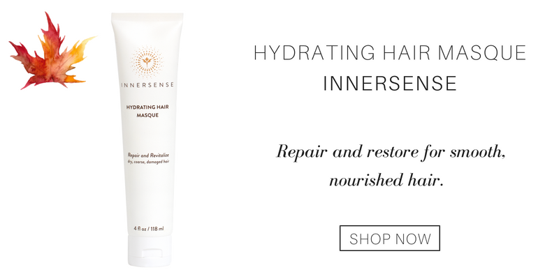 hydrating hair masque from innersense. repair and restore for smooth, nourished hair.