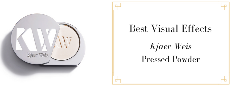 best visual effects: kjaer weis pressed powder