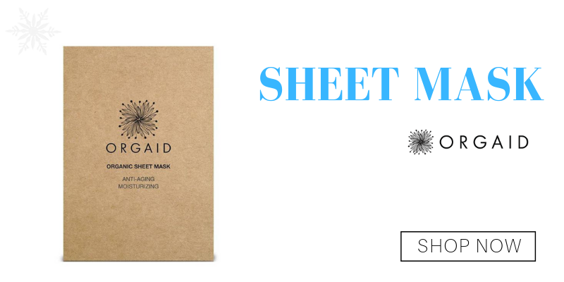 organic sheet mask from orgaid