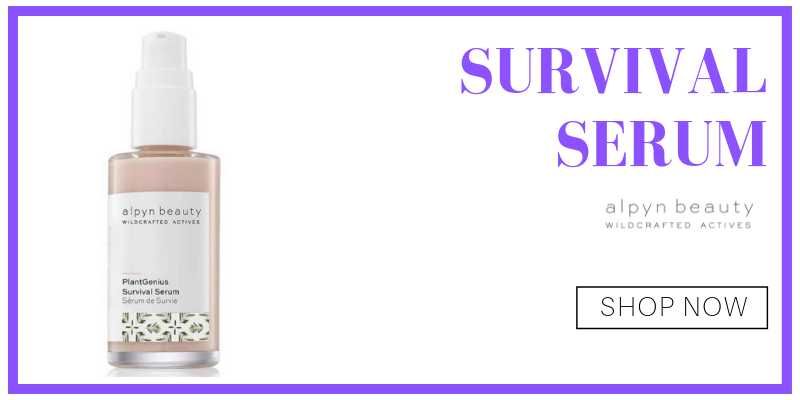 survival serum from alpyn beauty