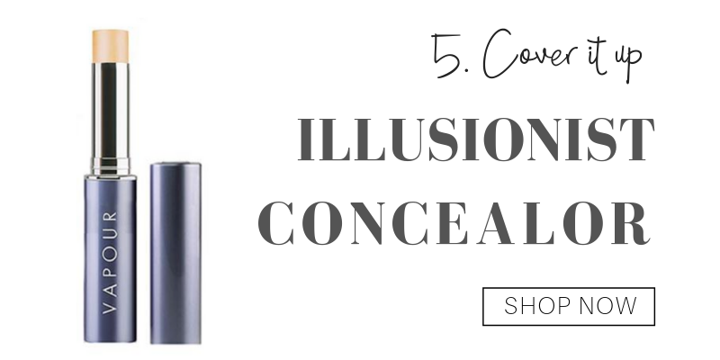 5. cover it up: illusionist concealer from vapour