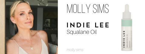 molly sims: indie lee squalane oil