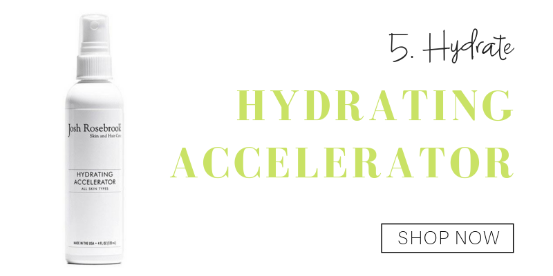 5. hydrate: hydrating accelerator from josh rosebrook