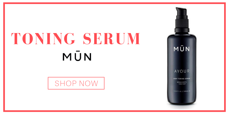 toning serum from MŪN