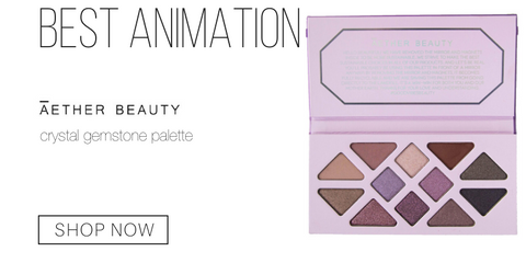 best animation: aether beauty crystal gemstone palette