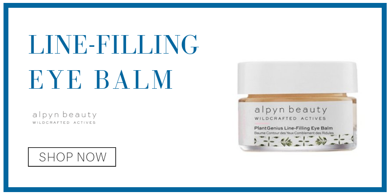 line-filling eye balm from alpyn beauty