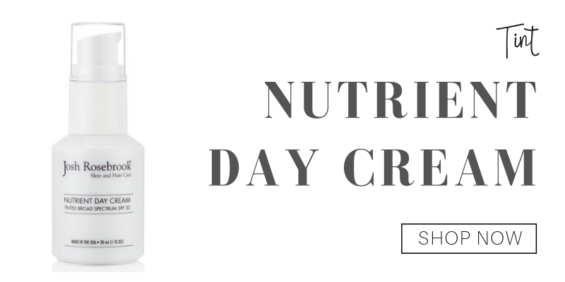 tint: nutrient day cream from josh rosebrook