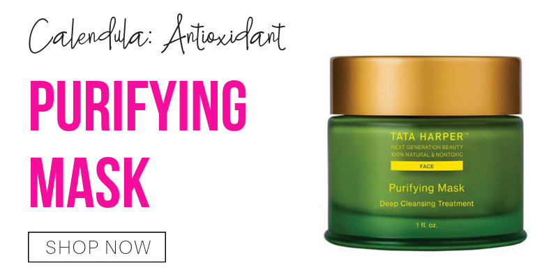 calendula: antioxidant. purifying mask from tata harper