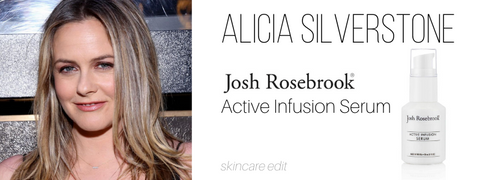 alicia silverstone: josh rosebrook active infusion serum