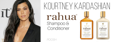 kourtney kardashian - rahua shampoo and conditioner