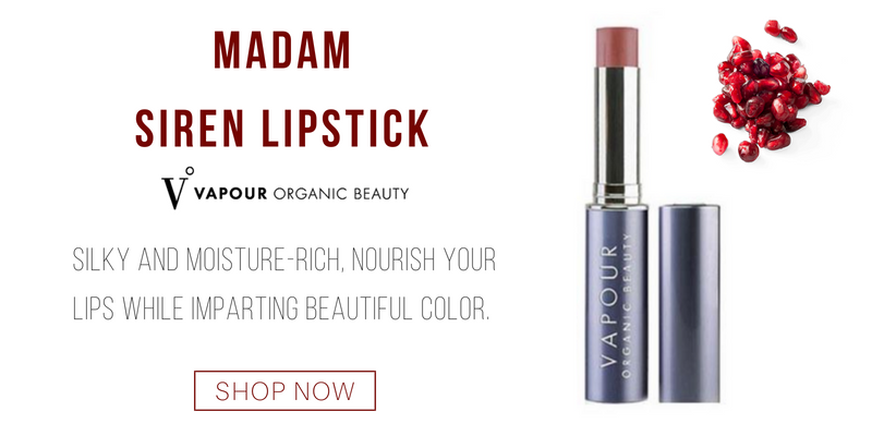 madam siren lipstick from vapour organic beauty. silky and moisture rich nourish your lips while imparting beautiful color.