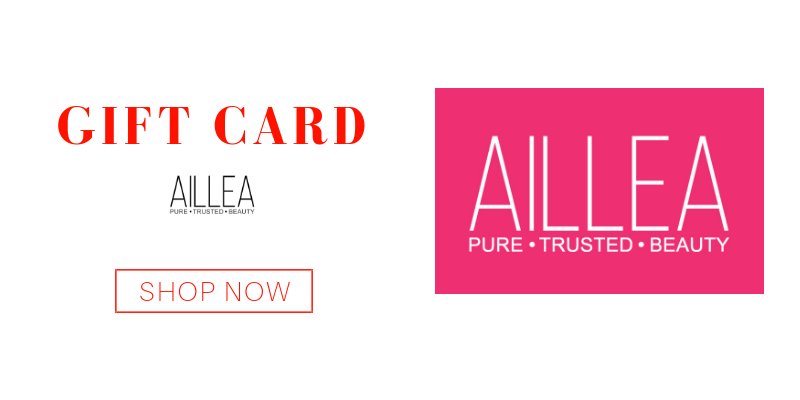 gift card from aillea