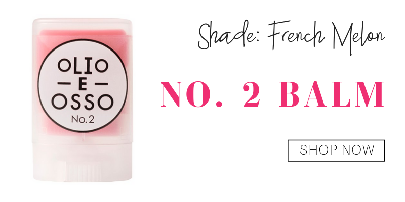 no. 2 balm in the shade french melon from olio e osso