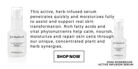 this active, herb-infused serum penetrates quickly and moisturizes fully to assist and support real skin transformation. rich fatty acids and vital phytonutrients help calm, nourish, moisturize and repair skin cells through our unique, concentrated plant and herb synergies.