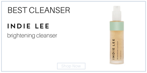 best cleanser indie lee brightening cleanser