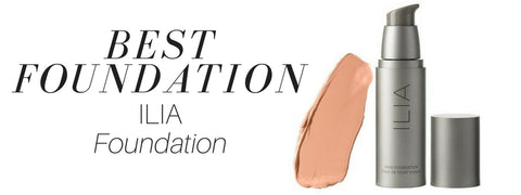 best foundation: ilia foundation