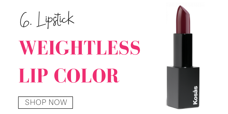 6. lipstick: weightless lip color from kosas