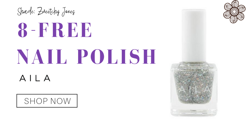 8-free nail polish in the shade zweetchy jones from aila