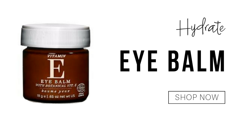 hydrate: eye balm from one love organics