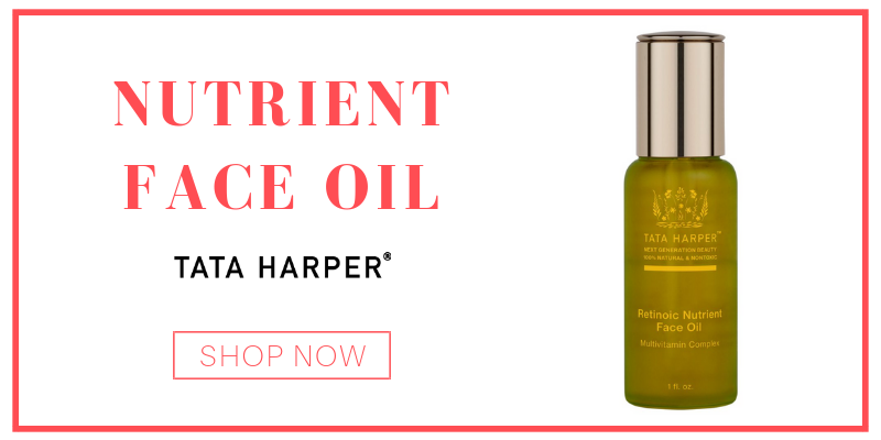 nutrient face oil from tata harper