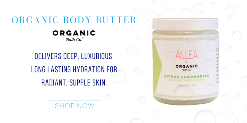organic body butter from organic bath co. delivers deep, luxurious long lasting hydration for radiant, supple skin.