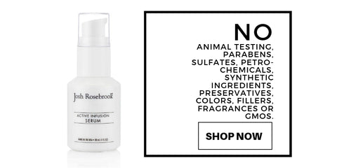no: animal testing, parabens, sulfates, petrochemicals, synthetic ingredients, preservatives, colors, filler, fragrances or GMOs.