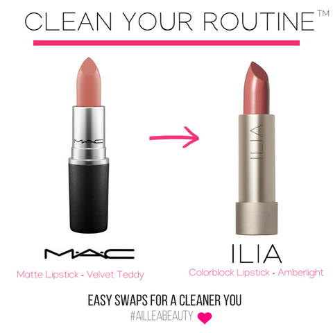 swap your MAC Matte Lipstick for ILIA Colorblock