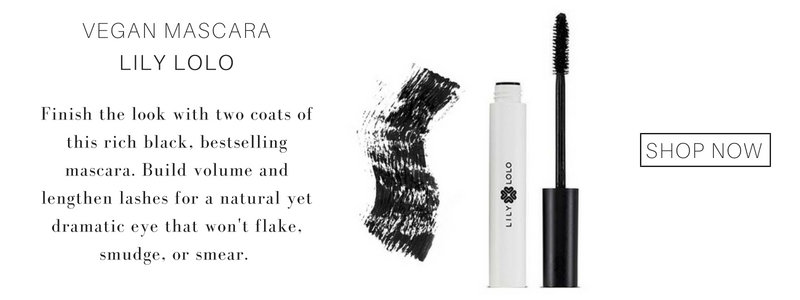 vegan mascara from lily lolo. finish the look with two coats of this rich black, best selling mascara. build volume and lengthen lashes for a natural yet dramatic eye that won't flake, smudge, or smear.