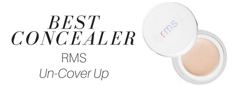 best concealer: RMS un-cover up
