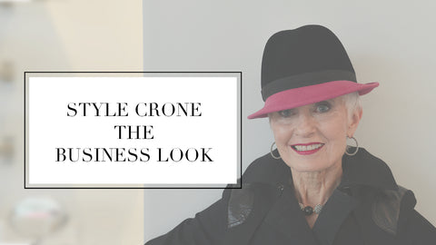 style crone the business look