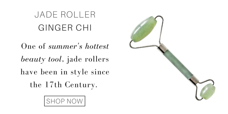 jade roller from ginger chi. one of summer's hottest beauty tool, jade rollers have been in style since the 17th century.