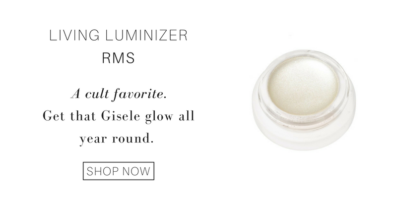 living luminizer from rms. a cult favorite. get that gisele glow all year round.