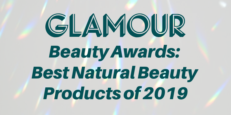glamour beauty awards: best natural beauty products of 2019