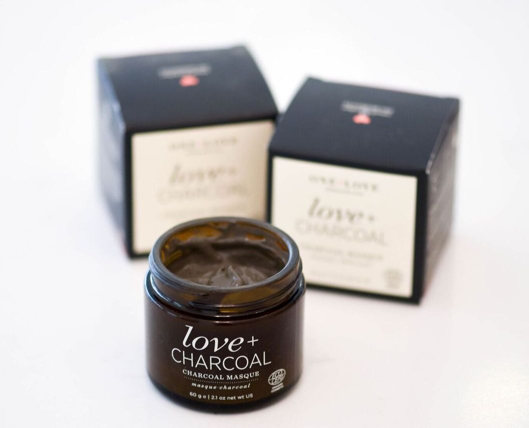 Love and charcoal charcoal masque