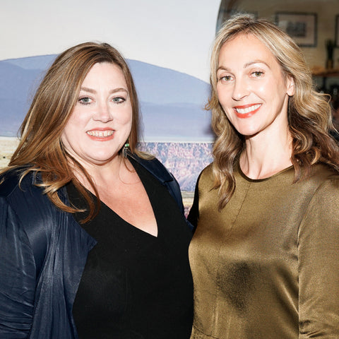 Kristine and Krysia- founders of vapour beauty