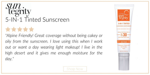 suntegrity 5 in 1 tinted sunscreen