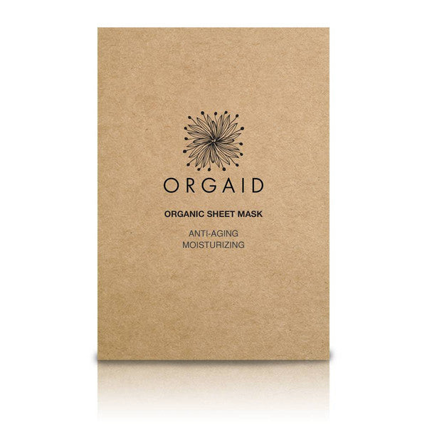 Orgaid Organic Anti-Aging and Moisturizing Sheet Masks
