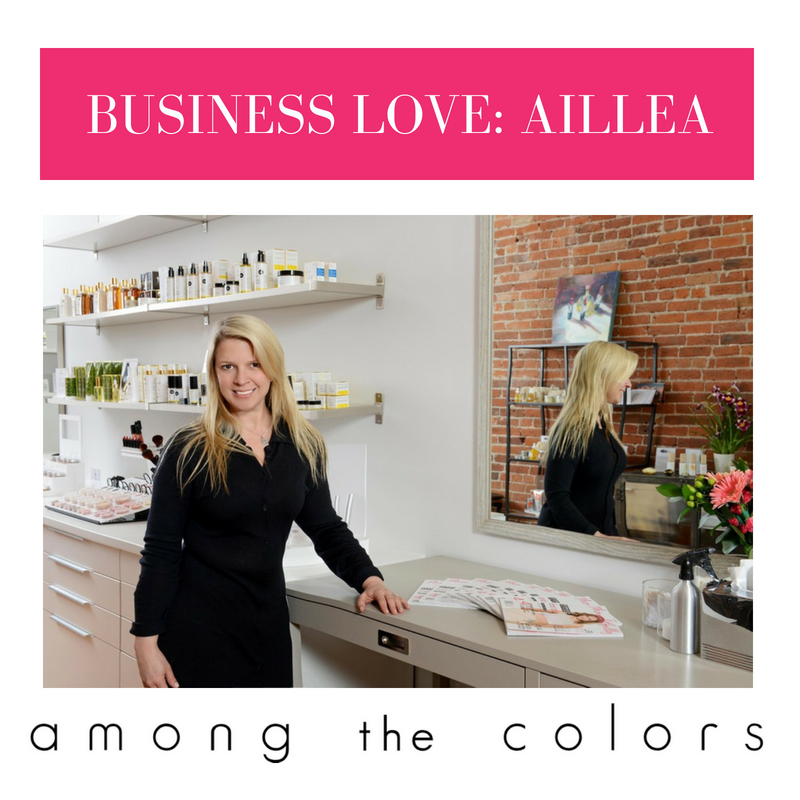 business love: aillea. article by among the colors