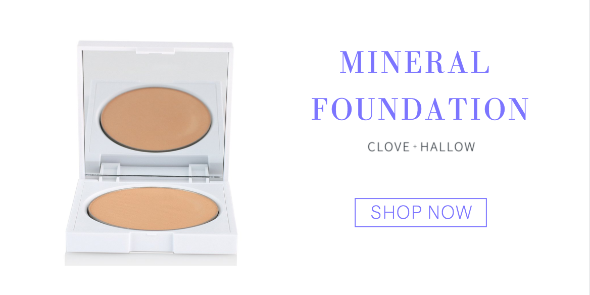 mineral foundation from clove and hallow