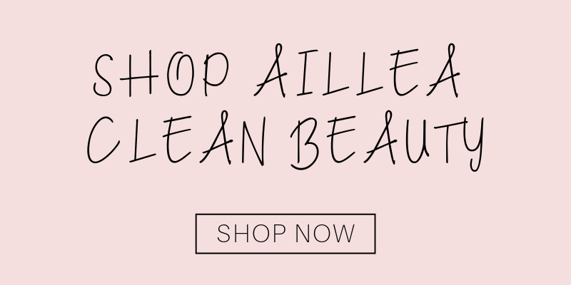 shop aillea clean beauty