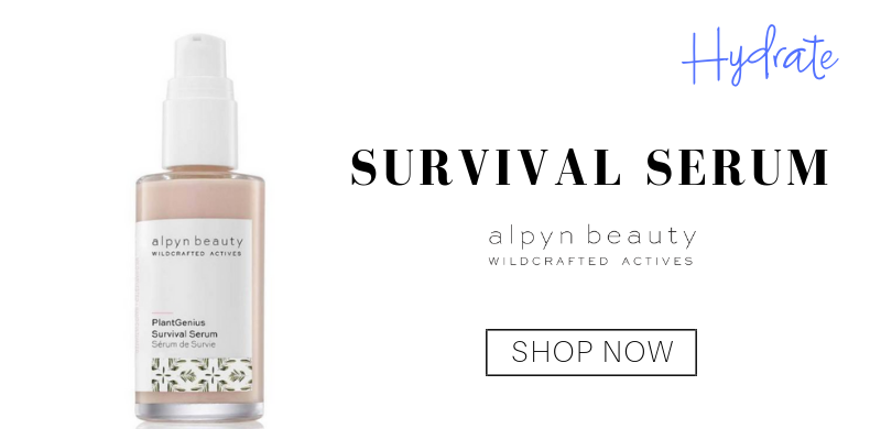 hydrate: survival serum from alpyn beauty