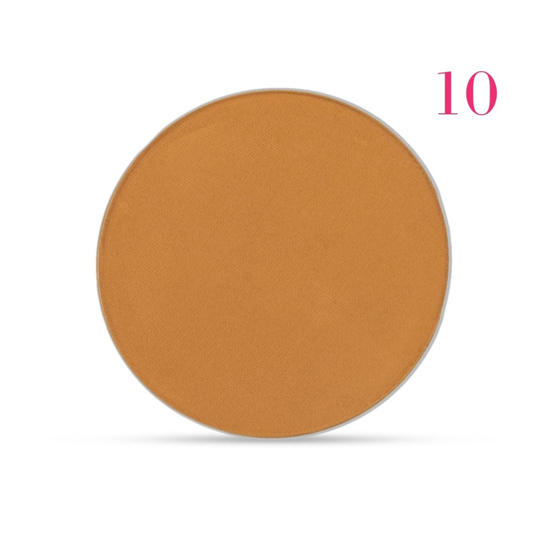 Clove + Hallow pressed mineral foundation powder shade 10 AILLEA
