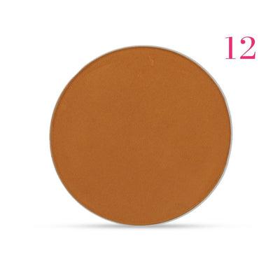 Clove + Hallow pressed mineral foundation powder shade 12 AILLEA