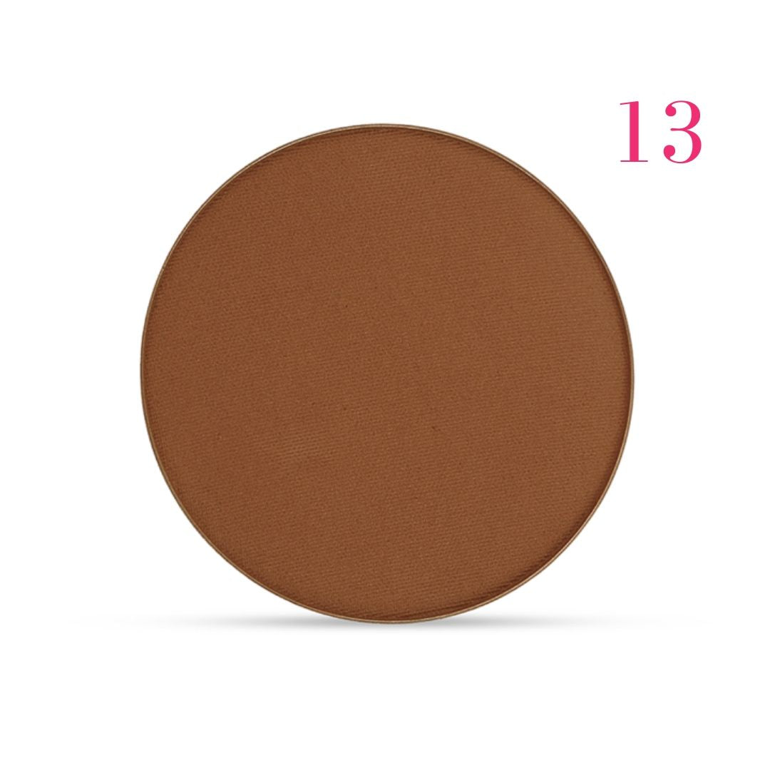 Clove + Hallow pressed mineral foundation powder shade 13 AILLEA