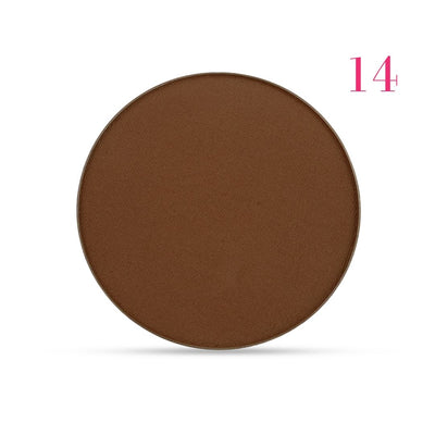 Clove + Hallow pressed mineral foundation powder shade 14 AILLEA