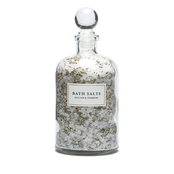 Mullein and Sparrow Lavender Bath Salts - Limited Edition - AILLEA