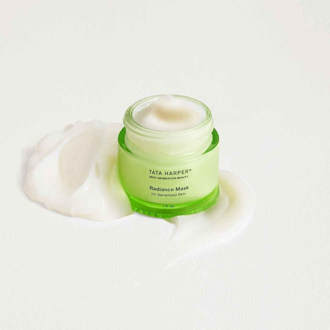 Tata Harper Superkind Radiance Mask - This formula is hypoallergenic, derm tested, and vegan. Free from: gluten, wheat, soy, and nut derivatives, fragrances, essential oils, and 85+ common allergens and irritants. AILLEA
