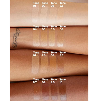 Kosas Tinted Face Oil - arm swatches - AILLEA