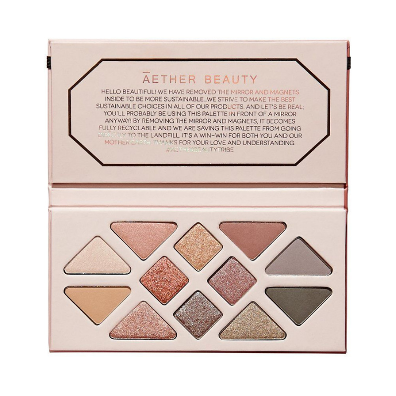 Aether Beauty Rose Quartz Crystal Gemstone Palette - AILLEA