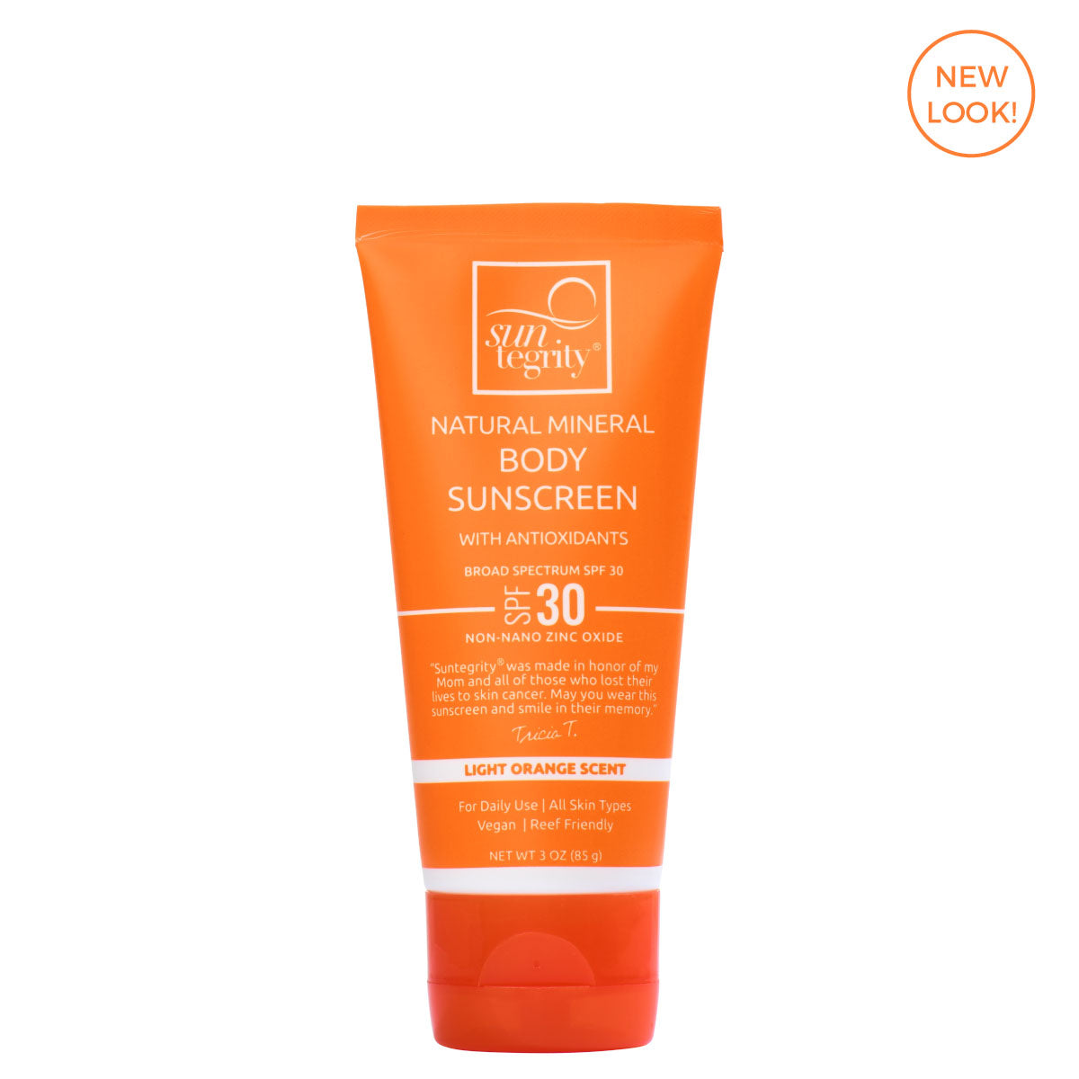 Suntegrity Natural Mineral Sunscreen SPF 30 3 oz - AILLEA